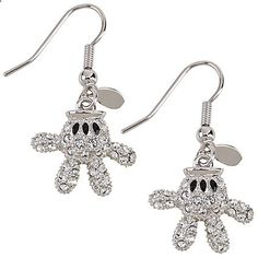 Mickey Mouse Glove Earrings by Arribas Affiliate