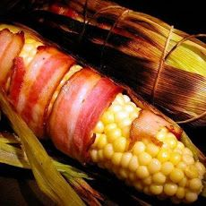 Grilled Bacon-Wrapped Corn on the Cob Recipe More