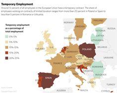 Empleo Temporal en Europa