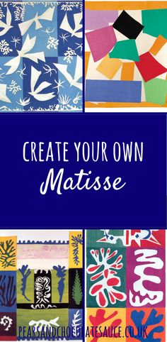 Recently we've been doing a few activities based around the theme of France. We spent one afternoon making some pictures inspired by Van Gogh's The Starry Night and the results were really pleasing! So, I decided we would have another go using some of Henri Matisse's collages. If (like me) you are almost completely unschooled in …
