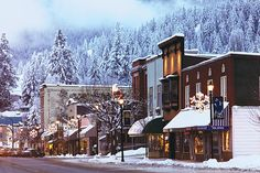 Winter wonderland: Rossland, British Columbia