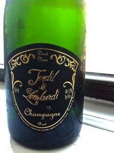 Tendil & Lombardi Blanc de Noir Champagne. Wine of the Week September 12, 2013 www.eatsomethingsexy.com