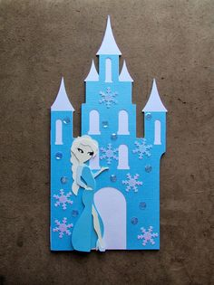 Carol's Creations: Disney's Frozen Elsa Inspired Birthday card