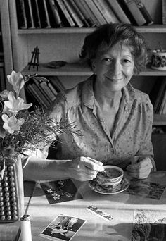"""2 July 1923 – 1 February Wisława Szymborska-Włodek ~ """"Those who knew/ what this was all about/ must make way for those/ who know little. Writers And Poets, Word Nerd, Short Film, The Past, Poetry, History, Polish Music, Kiss, Portraits"""