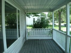 569 N Church St, Richland Center, WI 53581  Best part front porch with swing