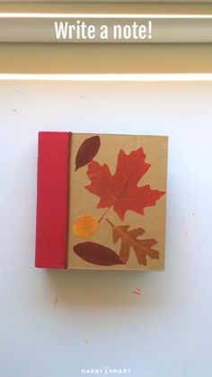 How to Make a Rustic Fall Planner Like This