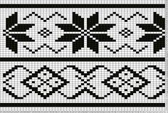 Tricksy Knitter Charts: Lou's Easy Fair Isle by deena