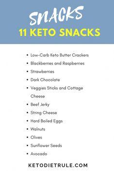 Keto snacks: 11 low-carb snacks for your ketogenic diet. Keto snacks: 11 low-carb snacks for your ketogenic diet. Keto snacks: 11 low-carb snacks for your ketogenic diet. Healthy Low Carb Snacks, Keto Snacks, Low Carb Keto, Healthy Eating, Aperitivos Keto, Gewichtsverlust Motivation, Keto Food List, Keto Diet For Beginners, Keto Beginner