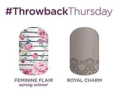 SPECIFY which one:  Feminine Flair OR Royal Charm - Full sheet, 1/2 sheet, Mani pack, Pedi pack