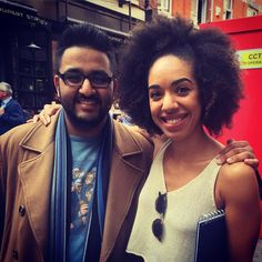 PEARL MACKIE AND ME! I wished her best of luck as the new DOCTOR WHO COMPANION! She's absolutely wonderful and I can wait to see her on screen! #DoctorWho #PearlMackie by akshay0bhandari