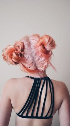 girl, hair, and hairstyle resmi