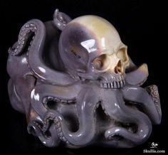 Colorful Mookaite Jaspe Crystal Skull Sculpture