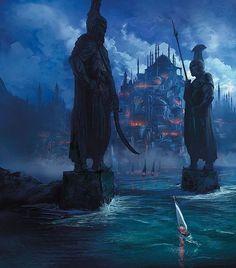 QOTD: Best game story arc? Art by Marc Simonetti  #Painting #Drawing #Fantasy #Illustration #ConceptArt #DigitalArt #Art #Artist