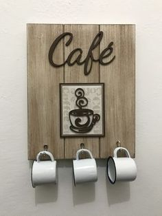 Coffee Bar Home, Coffee Shop, Diy Home Crafts, Wood Crafts, Decoration Plante, Decoupage Vintage, Coffee Signs, Wooden Art, Tray Decor