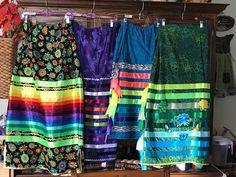 Graves - skirts I made Native American Clothing, Native American Fashion, Traditional Skirts, Jingle Dress, Ribbon Skirts, Skirt Outfits, Clothing Patterns, Beadwork, Beading