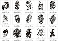 Image result for tribal water symbols