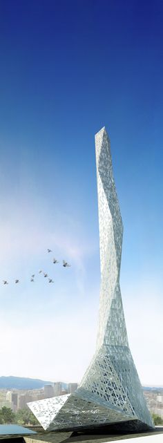 Gallery - Taiwan Tower Proposal / BNKR Arquitectura - 10