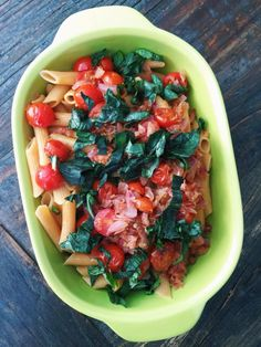 I used Organic Red Lentil Penne in this recipe, as we had a gluten-free friend over for dinner and it was great, and also had a pale pink color which made the simple dish even more beautiful.