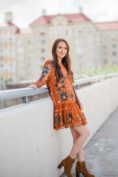 WHAT TO WEAR: FALL FASHION INSPIRATION| free people dress, free people hearts are wild mini dress, Vionic Ronnie bootie, vionic shoes, Louis Vuitton, fall outfit, fall dress, fashion inspiration, christinabtv, fashion blogger