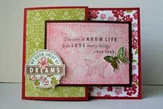Joy Fold Card Project Tutorial by Beate Johns - Splitcoaststampers