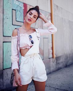 75 Trendy Spring Outfits That Will Enchant You Plaid Fashion, Moda Fashion, Tomboy Fashion, Green Fashion, Girl Fashion, Fashion Outfits, Look Camila Coelho, Cool Girl Style, New Years Dress