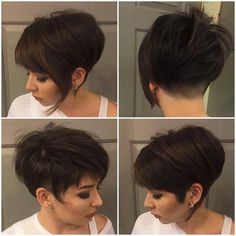 Stylish Short Hairstyles for Girls and Women: Curly, Wavy, Straight Hair Asymmetrical Short Pixie Haircuts - Woman, Girl Hairstyles Short Pixie Haircuts - Woman, Girl Hairstyles 2016 Girl Short Hair, Short Hair Cuts, Short Wavy, Pixie Hairstyles, Straight Hairstyles, Asymmetrical Hairstyles, Asymmetrical Bangs, Hair Styles 2016, Curly Hair Styles
