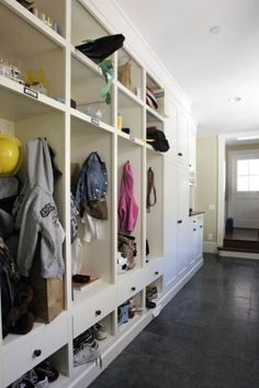 Mudroom - Entry - minneapolis - by California Closets Twin Cities Mudroom Cubbies, Mudroom Laundry Room, Laundry Room Remodel, New Age, Locker Designs, California Closets, Laundry Room Design, Trends, Living Room Designs