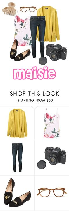 """Maisie- Sunny"" by autumn-rose-iv ❤ liked on Polyvore featuring Joules, Ted Baker, Mother, Jon Josef, Garrett Leight and France Luxe"