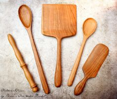 The Ultimate Baker's Package - Fine Wooden Kitchen Utensil Set