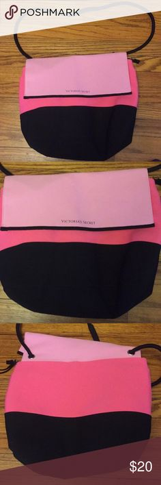 VS neoprene beach bag EUC Victoria's Secret Bags