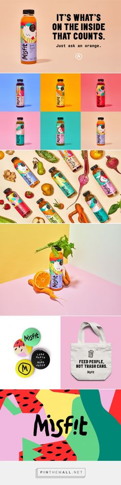 Misfit is the Juice That's Putting An End to Food Waste | design by  Gander