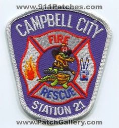 Campbell City Fire Rescue Department Station 21 Company Gator Patch Florida FL