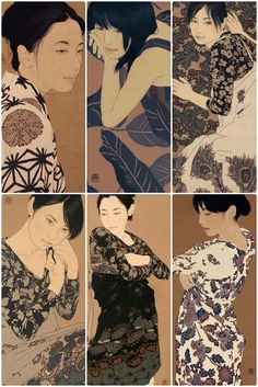 Love these Ikenaga Yasunari illustrations.
