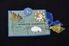 North Dakota State Tag