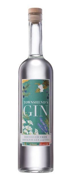 townshend's gin made from tea