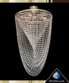 Spiral crystal chandelier Bohemia crystal glass chandelier