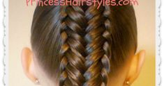 """Pretty variation of a fishtail braid hairstyle. """"Twisted edge"""" fishtail tutorial."""