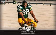 Reggie White! He was one of the Packers who rode bikes after practice! He was a great  person and NFL player!