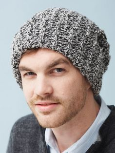 Have been looking for an easy to crochet, masculine hat pattern.  Hello Christmas presents!