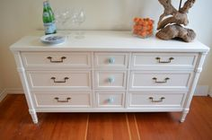 I want everything from this local shop <3 Beautiful Vintage Restyled  Drexel 9 Dresser with by ThePapayaTree, $575.00