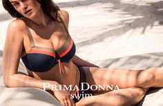 Prima Donna ~ Ocean Drive Bikini Top in Midnight Blue from Amazing Grace Lingerie UK Si Swimsuit, Bikini Swimwear, Bikini Tops, Swimsuits, Luxury Swimwear, Swimwear Brands, Designer Swimwear, Bikinis 2016, Lingerie Uk