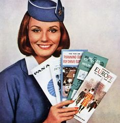 """Pan Am Fab! Ready to Board: ABC's """"Pan Am"""" television series cast You might have noticed by now (from all those commercials and ads) t. Pan Am, Vintage Travel, Vintage Ads, Vintage Posters, Vintage Airline, Vintage Luggage, Vintage Stuff, Airline Travel, Airline Tickets"""