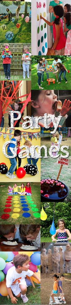 Parties are one of the thrills of childhood and at our house the excitement starts building months ahead of the anticipated event. It's great to throw in a few
