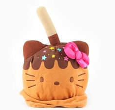 HELLO KITTY Caramel Apple Plush