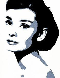 What is Your Painting Style? How do you find your own painting style? What is your painting style? Audrey Hepburn Zeichnung, Audrey Hepburn Kunst, Audrey Hepburn Painting, Black And White Painting, Black And White Portraits, Black White Art, Pop Art Portraits, Portrait Art, Portrait Paintings