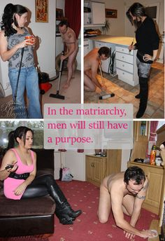 Femdom female superiority cuckold very