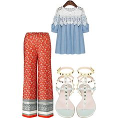 All this summer we loved palazzo pants. Here is a little guide to style #palazzo pants.
