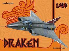 Eduard 1:48 Saab J-35 Draken Limited Edition 1135 #Eduard