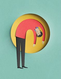 Paper Cut Illustrations by Eiko Ojala