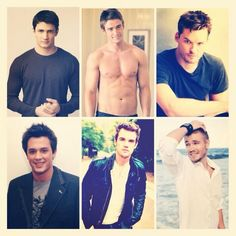 The attractive OTH guys! Love them all, but especially James!!